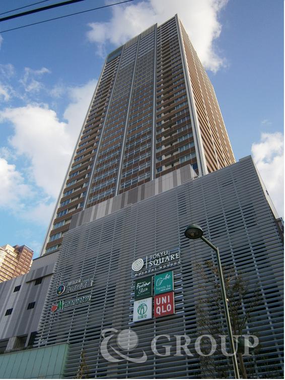 エクラスタワー武蔵小杉の外観写真