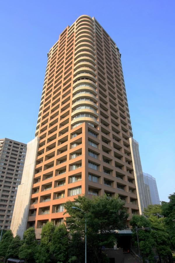 西早稲田パークタワーの外観写真