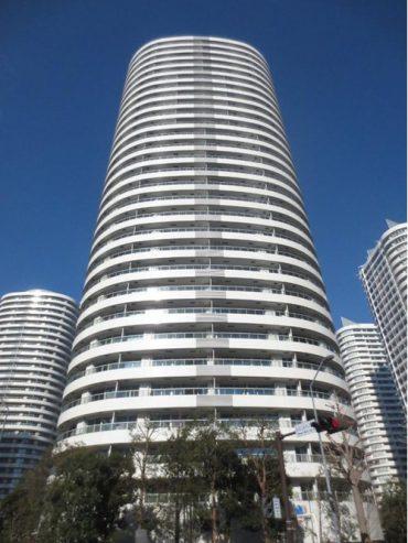 MMタワーズフォレシス R棟の外観写真