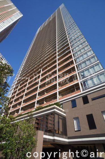 芝浦アイランド ブルームタワーの外観