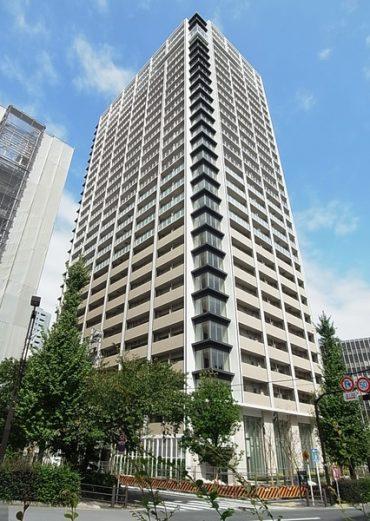 ブリリアザタワー東京八重洲アベニューの外観