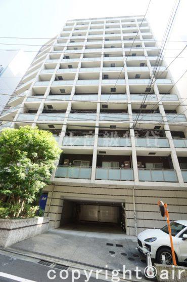 パークハビオ渋谷の外観